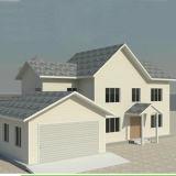 Chambre moderne classique simple de villa d'american national standard pour la maison/appartement/ressource vivants