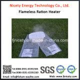 Saco plástico de Hearter do calefator individual Flameless por atacado do alimento da ração