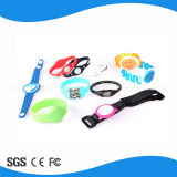 13.5MHz RFID Safety Silicone Wristbands per Access Control
