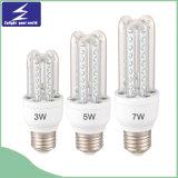 luz de bulbo del maíz del material plástico LED de 3u 3W