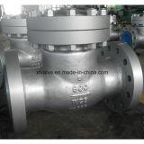 Clapet anti-retour industriel d'oscillation d'extrémité de bride d'acier de moulage d'usage de norme ANSI