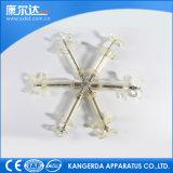 Kd304 seringues en acier en plastique Tpx