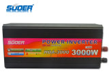 Inversor del inversor 24V 220V de Suoer con el cargador (HAD-3000D)
