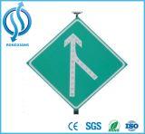 LEIDENE van het aluminium Zonne Aangedreven Verkeersteken/het de ZonneRaad van het Teken/Teken van de Pijl van het Verkeer