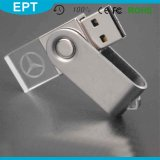 USB superior Flash Drives Key Chain del USB 2.0 Crystal Rectangle de Selling Cheapest con Logo
