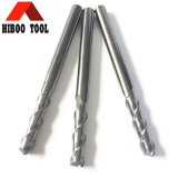 HRC55 fresa de aluminio cuadrada dura de la aleación Z2