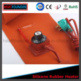 Placa industrial do calefator da borracha de silicone