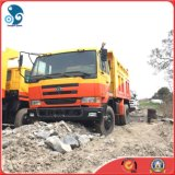 20ton/15cbm Top Quality Di sinistra-Hand-Driving Nissan Ud Used Dump Truck