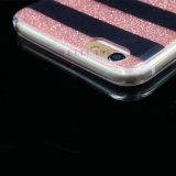 iPhone 5/6/6p를 위한 색칠 얼룩말 선 분말 IMD 셀룰라 전화 또는 이동할 수 있는 덮개 또는 이론