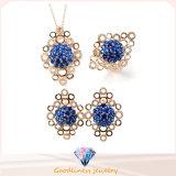 クラスタ女性925の純銀製の宝石類一定S3180のための豪華なデザイン方法宝石類