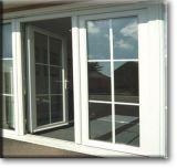 Finestra di alluminio, finestra della stoffa per tendine, finestra termica di alluminio della rottura