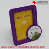 LED Light Rectangle Round Foto Frame mit Support