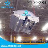 """Ventilateur cyclone à recirculation à haut rendement 72 """"Solution de ventilation laitière avec test de laboratoire Amca et Bess"""