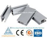 O alumínio expulsou perfil para o material de construção de alumínio