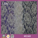 Nuovo fabbricato del merletto lavorato a maglia di disegno 100% nylon