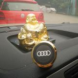 Firmenzeichen Stent des Auto-3D, das magnetischen Handy-Halter dreht