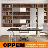 Mobília Home de madeira da sala de visitas da laca branca agradável moderna (OP16-Villa01)