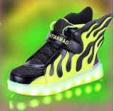 最新の学生のフラッシュライトは蹄鉄を打つ涼しいLEDの靴(FF824-1)に