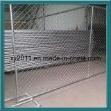 Скотины ограждают, поле ограждая, PVC покрынная сваренная загородка стены ячеистой сети, панель сваренной сетки