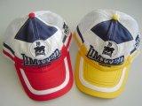 casquette de baseball de promotion de 6 panneaux avec le logo personnalisé
