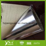 Isolamento a prova di fuoco laminato del di alluminio del panno di maglia della vetroresina