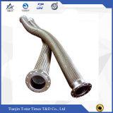 Mangueira trançada/tubulação do metal flexível da mangueira do aço inoxidável de materiais resistentes ao calor