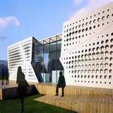 Alumínio feito-à-medida painéis perfurados para o edifício decorativo