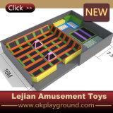 セリウムのベッドのトランポリン(B1503-1)を跳んでいる熱い販売の遊園地の子供