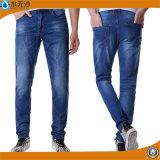熱い販売法の人の細い方法まっすぐな綿のデニムのジーンズ