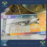 Customized Ticket Coupon avec Hologram fil Impression