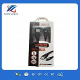 1.8m chargeant et câble d'USB de Mirco de transfert de l'emballage différent