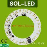 110V 220V 15W Rodada AC alumínio LED Módulo PCB com ímã Diretamente para lâmpada do teto