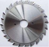 La circulaire de rayure de CTT de panneau de 120* (12+12) T Vennered scie la lame