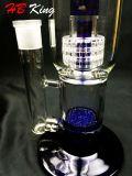 Hb-K8 verdoppeln Birdcage-Fritte Percolater Wasser-Glas-Rohr