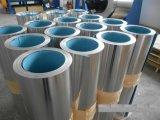 Hoja ondulada de aluminio con papel de poli papel para barrera de humedad