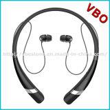 El receptor de cabeza móvil sin hilos Bluetooth de la música del auricular de Bluetooth se divierte el auricular sin manos de la tirilla de la camisa