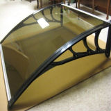 Front Back Door Awning를 위한 PC Polycarbonate Awning Canopy