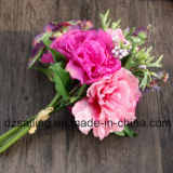 Flor artificial de la alta calidad del ramo del Peony y del Hydrangea (SF15501)