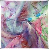 Gedruckte Chiffon- Seide für Kleid-Gewebe