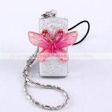 나비 다이아몬드 소녀 (YT-6275)를 위한 수정같은 보석 USB Pendrive