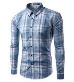 Chemise de robe occasionnelle de la piste des hommes faits sur commande en gros (A425)