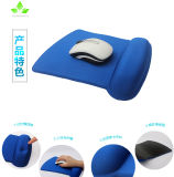 青く小さいメモリ泡のマウスパッド
