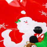 نوعية عيد ميلاد المسيح زخرفة كلّ مخمل تطريز/[أبّليقو] مستديرة شجرة حاجة