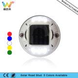 Nouveau LED vert clignotant pour jardin Light Plastic Solar Road Stud