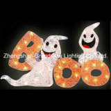 Decorazione sveglia di Halloween di disegno del fantasma