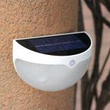 照明太陽塀の溝ライトの外の6 PCS LEDの動きセンサーの境界壁ランプ