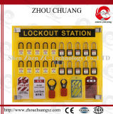 Osha PMMA 4-slot Hardware Lockout Center (zc-S121)