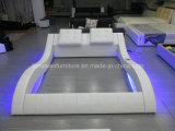 Кровать различной мебели спальни A021-1 самомоднейшая с музыкальной системой игрока