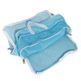 Le bagage de sac de mémoire de voyage de polyester vêtx la poche rangée d'organisateur