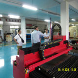 cortadores de acero del laser de la fibra 500W para corte de metales para el anuncio
